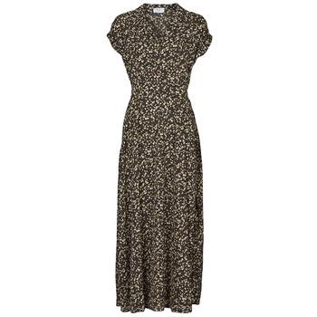 Textil Mulher Vestidos compridos Betty London  Preto