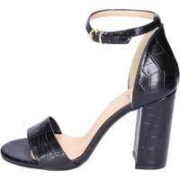 Sapatos Mulher Sandálias Moga' Sandálias BH65 Preto
