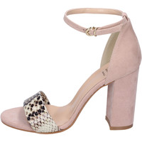 Sapatos Mulher Sandálias Moga' Sandálias BH67 Rosa
