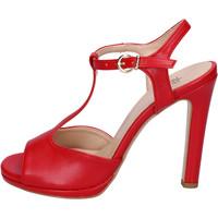 Sapatos Mulher Sandálias Moga' Sandálias BH70 Vermelho
