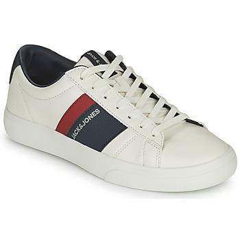 Sapatos Rapaz Sapatilhas Jack & Jones MISTRY Branco