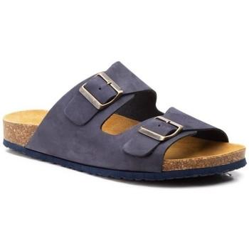 Sapatos Homem Chinelos Morxiva Shoes Sandalia de hombre de piel by Pepe Agullo Bleu