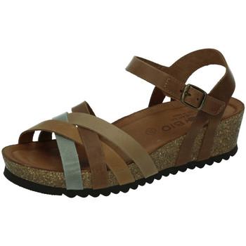 Sapatos Mulher Sandálias Biobio  Cinza