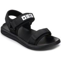 Sapatos Homem Sandálias Big Star HH174842 Preto