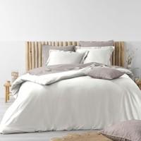Casa Conjunto de roupa de cama Douceur d intérieur STONALIA Branco