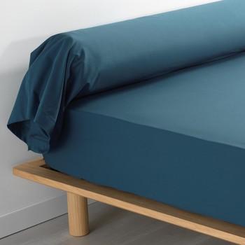 Casa Fronha de almofada  Douceur d intérieur PERCALINE Azul