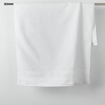 Casa Toalha e luva de banho Douceur d intérieur EXCELLENCE Branco