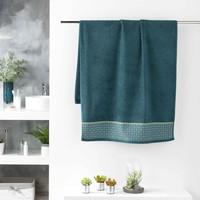 Casa Toalha e luva de banho Douceur d intérieur BELINA Azul