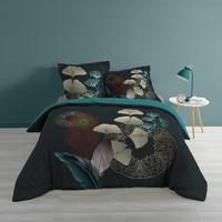 Casa Conjunto de roupa de cama Douceur d intérieur GINKOBLUE Azul / Escuro