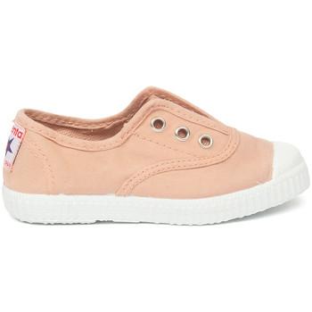Sapatos Criança Sapatilhas de ténis Cienta Chaussures en toiles bébé  Tintado rose clair