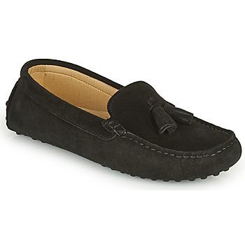 Sapatos Mulher Mocassins Casual Attitude GATO Preto