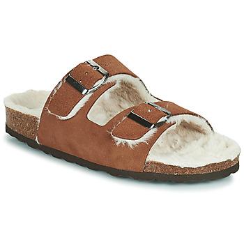 Sapatos Mulher Chinelos Casual Attitude NEW Castanho