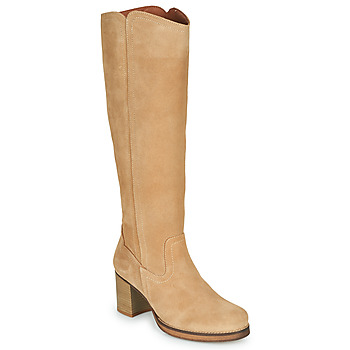 Sapatos Mulher Botas Casual Attitude PASTILLE Bege