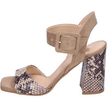Sapatos Mulher Sandálias Moga' Sandálias BH75 Bege