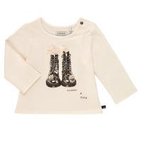 Textil Rapariga T-shirt mangas compridas Ikks PAON Branco