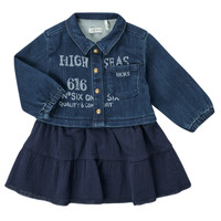 Textil Rapariga Vestidos curtos Ikks CHATAIN Marinho