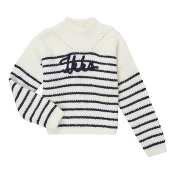 Textil Rapariga camisolas Ikks CITRON Branco