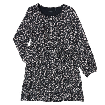 Textil Rapariga Vestidos curtos Ikks MALACHITE Preto