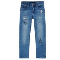 Textil Rapaz Calças de ganga slim Ikks VANILLE Azul
