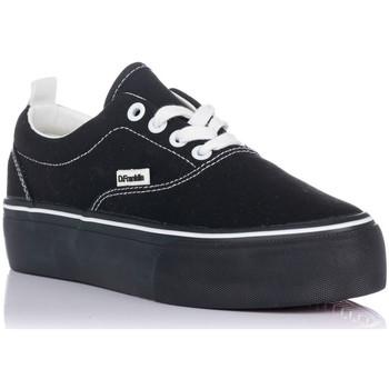 Sapatos Mulher Sapatilhas D.Franklin 20007 Preto