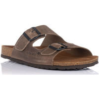 Sapatos Homem Chinelos Interbios 9560 Bege