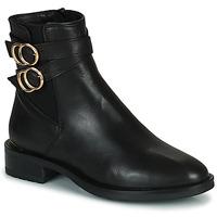 Sapatos Mulher Botas baixas Minelli LISA Preto