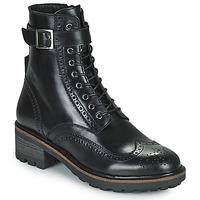 Sapatos Mulher Botas baixas Minelli ALOILA Preto