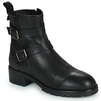 Sapatos Mulher Botas baixas Minelli LISTERIA Preto