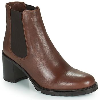 Sapatos Mulher Botins Minelli PETRINA Castanho