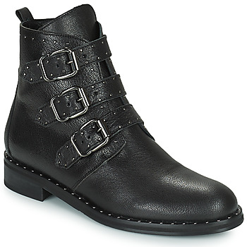 Sapatos Mulher Botas baixas Minelli FRANILLA Preto
