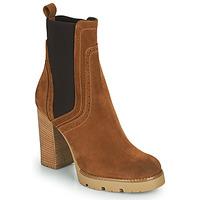 Sapatos Mulher Botins Minelli VANILLA Castanho