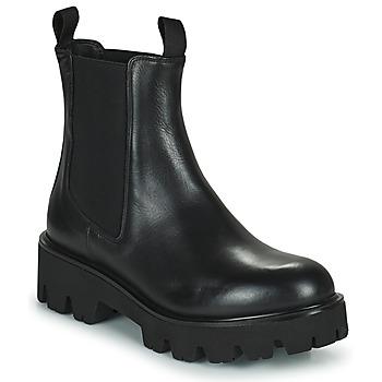 Sapatos Mulher Botas baixas Minelli MANINA Preto