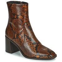 Sapatos Mulher Botins Minelli MARIELLA Castanho