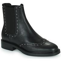 Sapatos Mulher Botas baixas Minelli GERINA Preto