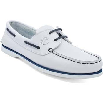 Sapatos Homem Sapato de vela Seajure Sauvage Boat Shoe Branco