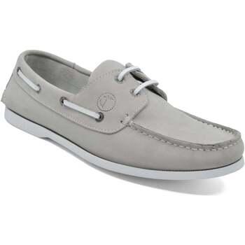Sapatos Homem Sapato de vela Seajure Unawatuna Boat Shoe Cinzento Claro