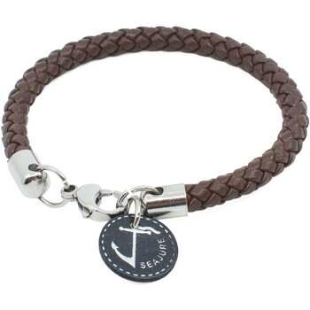 Relógios & jóias Homem Pulseiras Seajure Corsica Bracelet Castanho