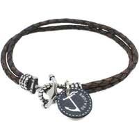Relógios & jóias Homem Pulseiras Seajure Miyako Bracelet Castanho