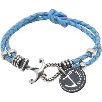 Relógios & jóias Homem Pulseiras Seajure Palawan Bracelet Azul