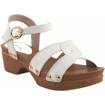 Sapatos Rapariga Sandálias Bubble Bobble menina  a3014 branca Branco
