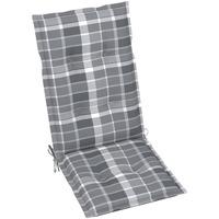 Casa Almofada de cadeira VidaXL Almofadão para cadeira de jardim 120 x 50 x 7 cm Multicolor