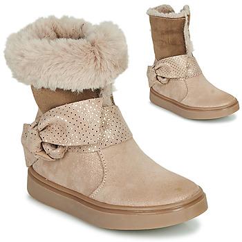 Sapatos Rapariga Botas GBB EVELINA Bege