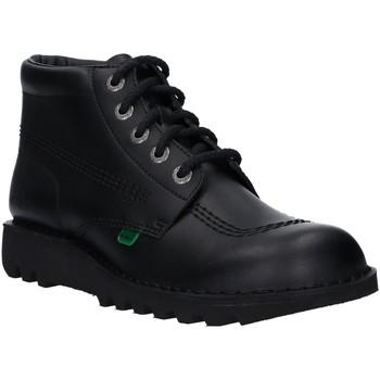 Sapatos Homem Botas baixas Kickers 831350-60 KICKHI Negro