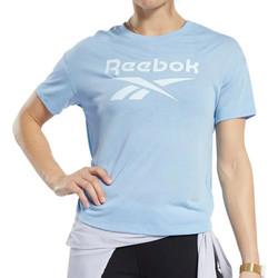 Textil Mulher T-Shirt mangas curtas Reebok Sport  Azul