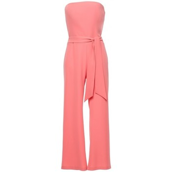 Textil Mulher Macacões/ Jardineiras Makover K045 Fato de salto de bandeau - laranja