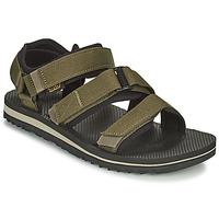 Sapatos Homem Sandálias Teva M Cross Strap Trail DARK OLIVE Cáqui