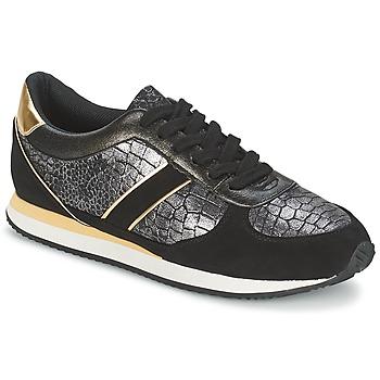 Sapatos Mulher Sapatilhas Balsamik LILA Preto / Ouro