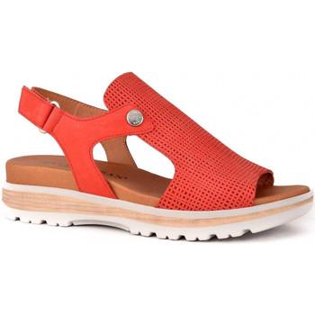 Sapatos Mulher Sandálias Paula Urban 7-341 Vermelho