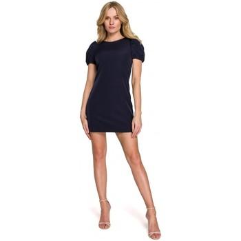 Textil Mulher Vestidos curtos Makover K096 Mini vestido com top de embrulho - modelo 1