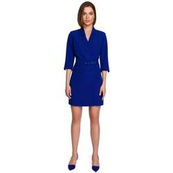 Textil Mulher Vestidos curtos Style S255 Calças com volume de negócios - preto